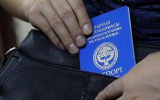 Процедура получения гражданства РФ гражданами Киргизии