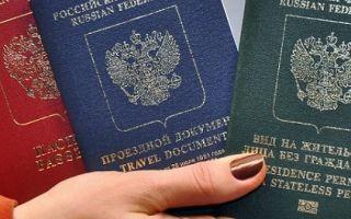 ВНЖ иностранного гражданина и лица без гражданства